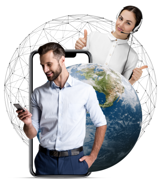 "Get one ""Global""  Customer Service number"