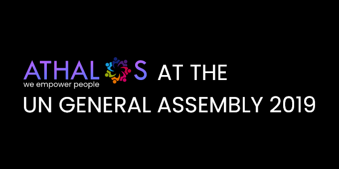 Athalos at the UN General Assembly 2019