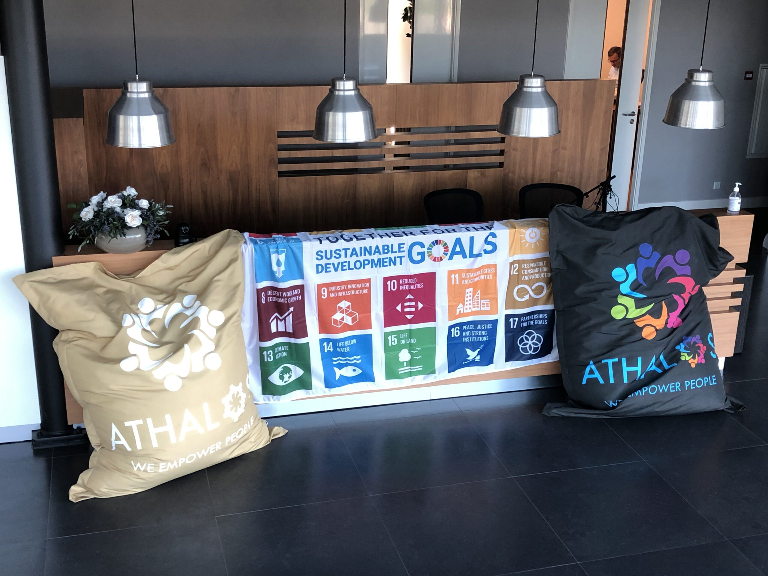 Athalos participates in the SDG Flag Initiative of the United Nations