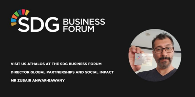 We are at the SDG Business Forum