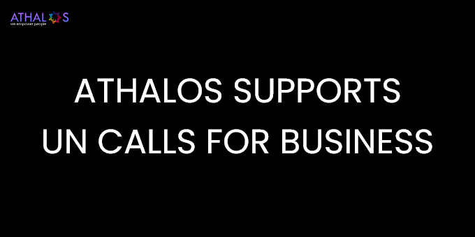 Athalos supports UN calls for business to move from strategy to delivering on the Global Goals