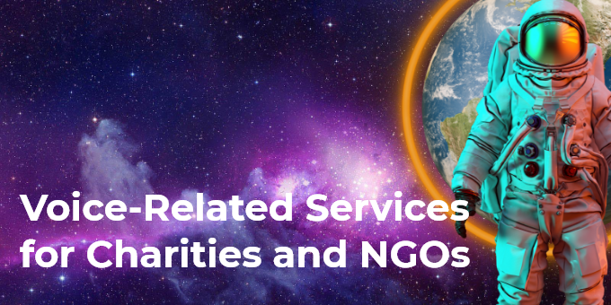 Services for charities and NGOs